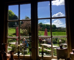 Perfect views - The Crown at Frampton Mansell