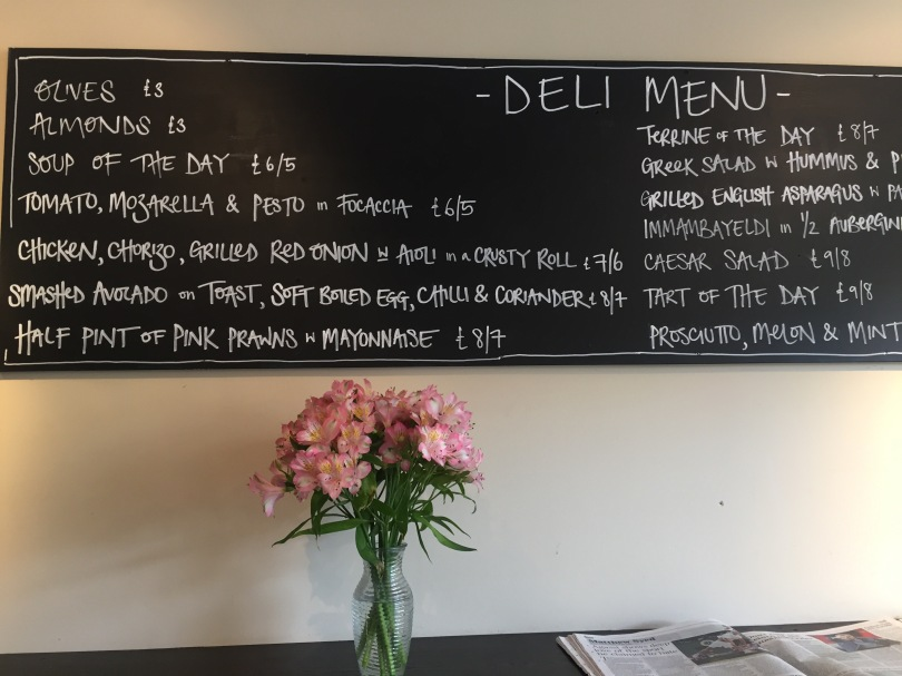 The menu at Made by Bob the Deli retains the Mediterranean influences of its restaurant sibling.