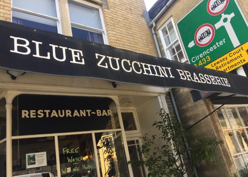 Blue Zucchini Brasserie, Tetbury