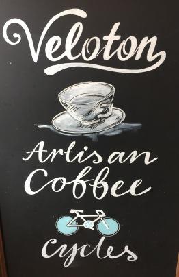 Veloton blackboard